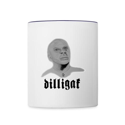 DILLIGAF - Contrast Coffee Mug