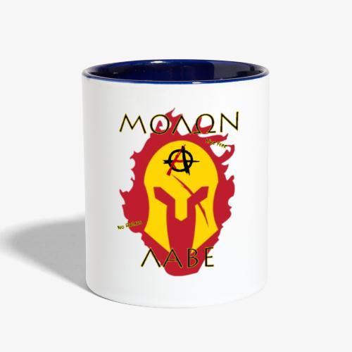 Molon Labe - Anarchist's Edition - Contrast Coffee Mug