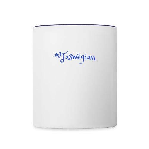 Taswegian Blue - Contrast Coffee Mug