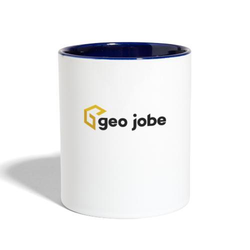 GEO Jobe Corp Logo - Black Text - Contrast Coffee Mug