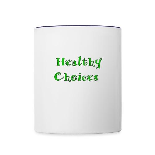 Healthychoices - Contrast Coffee Mug