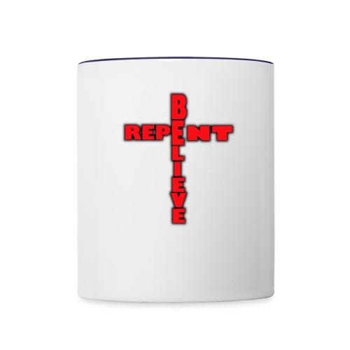 Carry your Cross Hope Possible - Contrast Coffee Mug