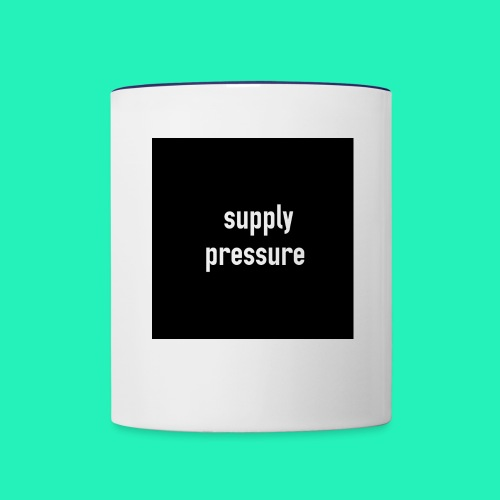 Supply pressure  - Contrast Coffee Mug