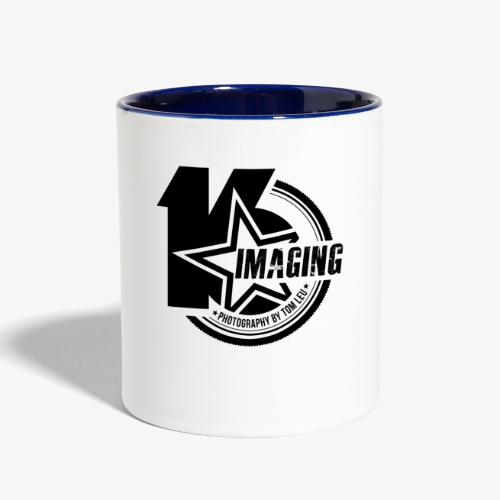 16 Badge Black - Contrast Coffee Mug