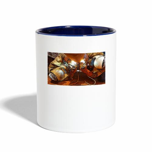Pipeliners Down Under - Contrast Coffee Mug