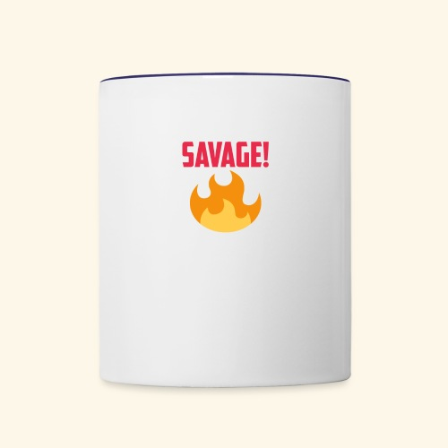 SAVAGE MUG - Contrast Coffee Mug