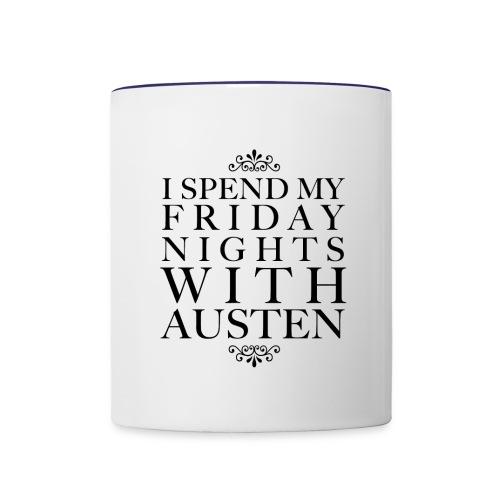 AUSTEN png - Contrast Coffee Mug