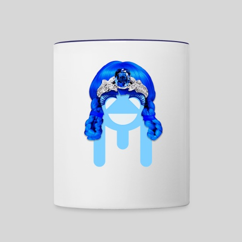 ALIENS WITH WIGS - #TeamMu - Contrast Coffee Mug