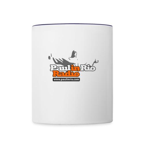 Paul in Rio Radio - Thumbs-up Corcovado #1 - Contrast Coffee Mug