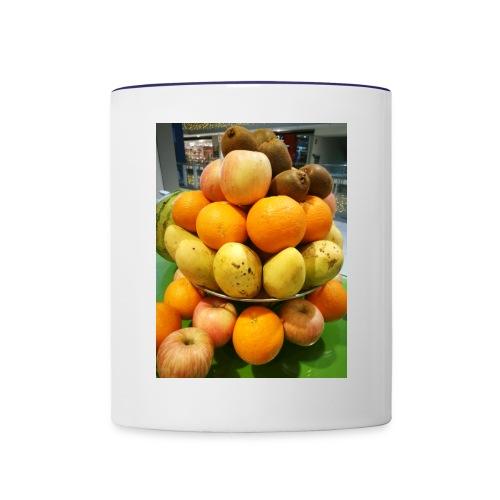 fruits - Contrast Coffee Mug