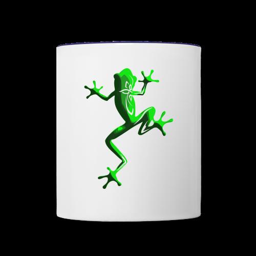 TBE frog - Contrast Coffee Mug