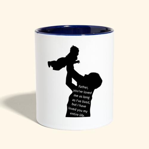 Sweet Father's Day - Contrast Coffee Mug