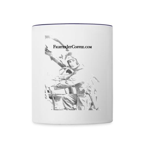 FigherTeeLogo - Contrast Coffee Mug