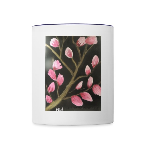 Magnolia Buds Early Spring - Contrast Coffee Mug