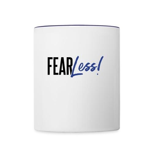 FearLess - Contrast Coffee Mug