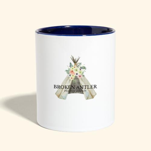 BROKEN ANTLER 2 - Contrast Coffee Mug