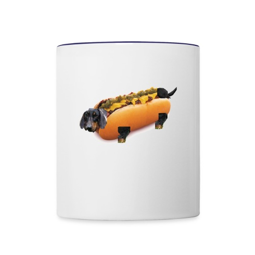 Hot Dog Literally - Contrast Coffee Mug