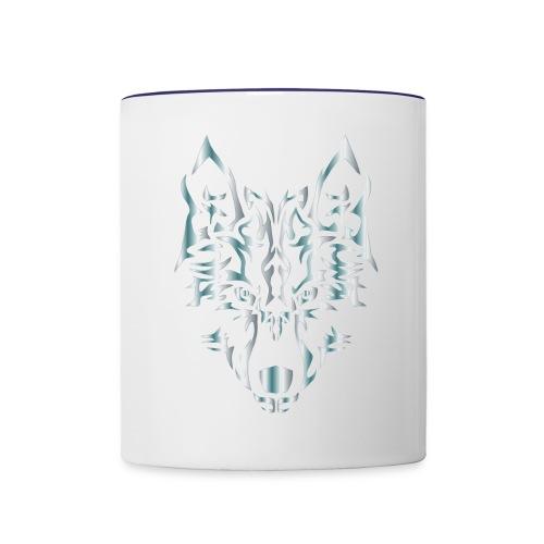 wolf - Contrast Coffee Mug