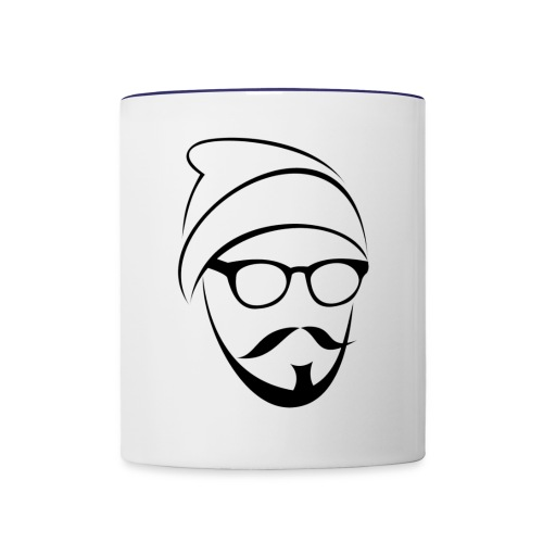 Whang Face - Contrast Coffee Mug