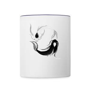 Cool fish - Contrast Coffee Mug