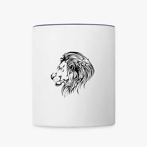 Lion - Contrast Coffee Mug
