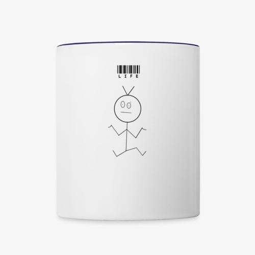 lifedecoder - Contrast Coffee Mug