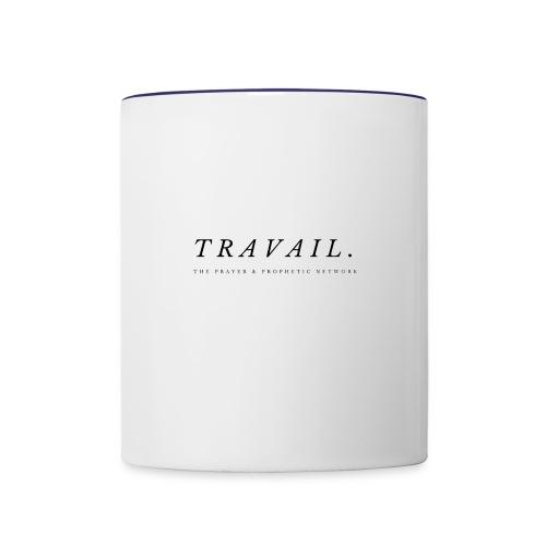 TRAVAIL - Contrast Coffee Mug
