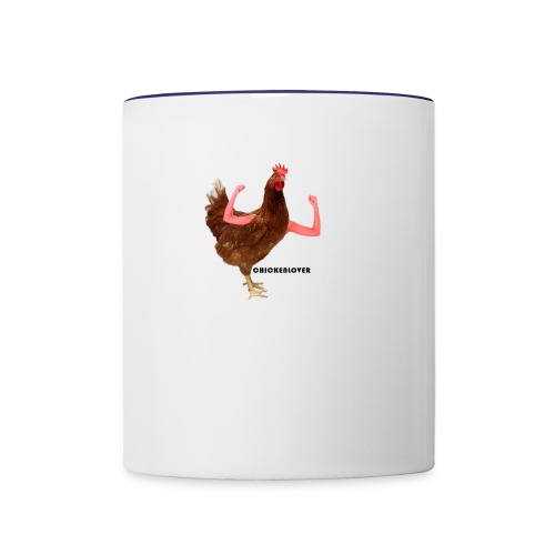 ChickenLover Box Logo T-shirt - Contrast Coffee Mug