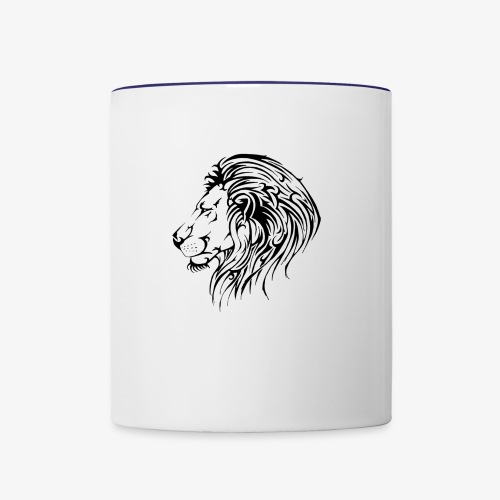 Lion - Contrast Coffee Mug