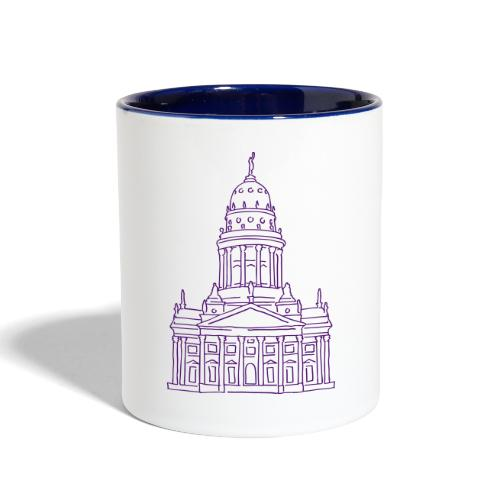 French Cathedral Berlin - Contrast Coffee Mug