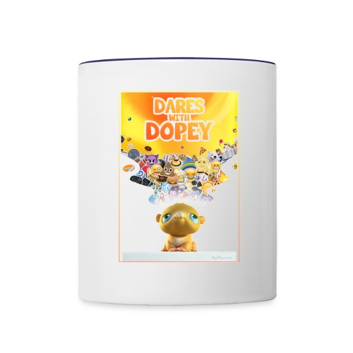 iPhone Case - Dares With Dopey - Contrast Coffee Mug