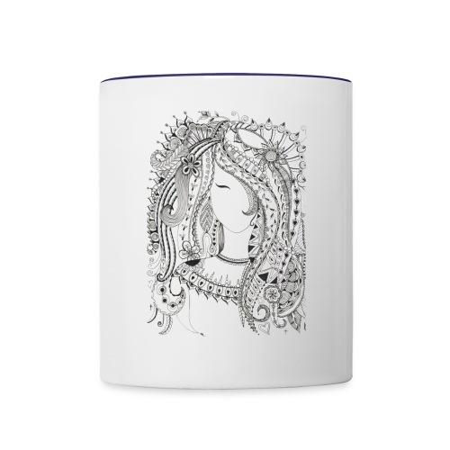 Girl - Contrast Coffee Mug