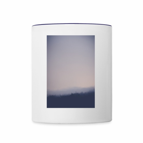 Foggy forest - Contrast Coffee Mug