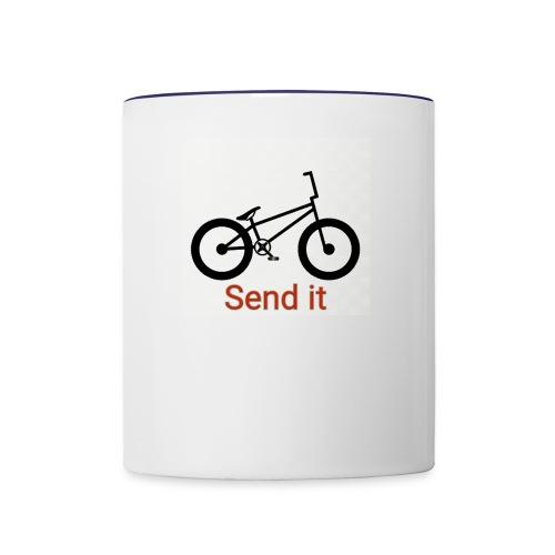 Send it - Contrast Coffee Mug