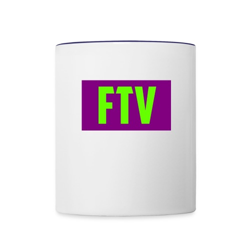 Green and Purple Mugs and MousePads - Contrast Coffee Mug