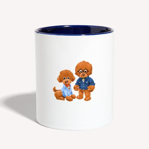 Agador and Fred - Contrast Coffee Mug