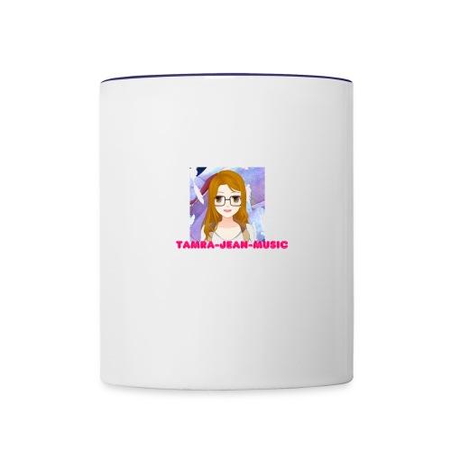 Anime Tamra Jean - Contrast Coffee Mug