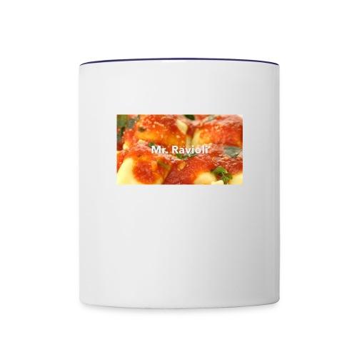 MR.RAVIOLI - Contrast Coffee Mug