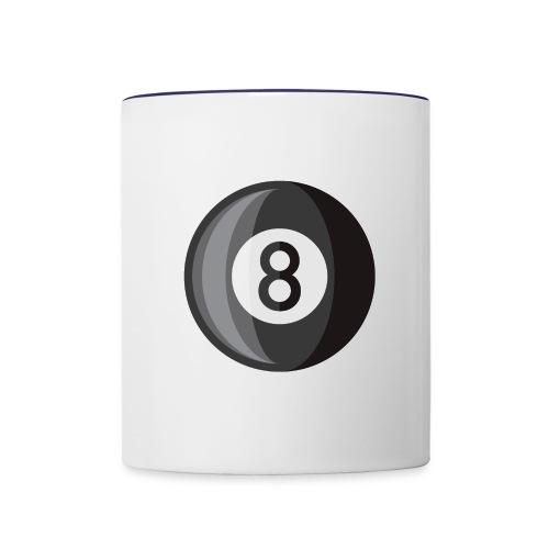 8 Ball - Contrast Coffee Mug