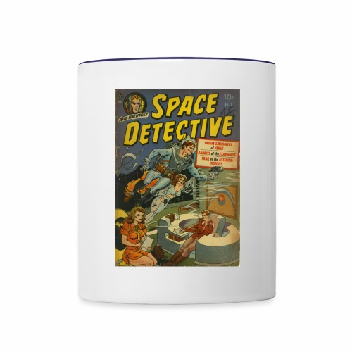 Space Detective - Contrast Coffee Mug