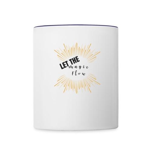 Let the magic flow! - Contrast Coffee Mug