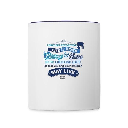 Deut 30 19 Light - Contrast Coffee Mug