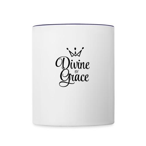 Divine by Grace - Contrast Coffee Mug