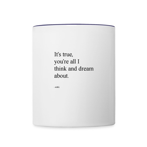 Thinker - Contrast Coffee Mug