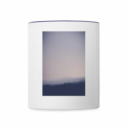 Foggy forest - Contrast Coffee Mug