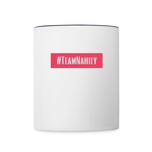 #TeamNahily - Contrast Coffee Mug
