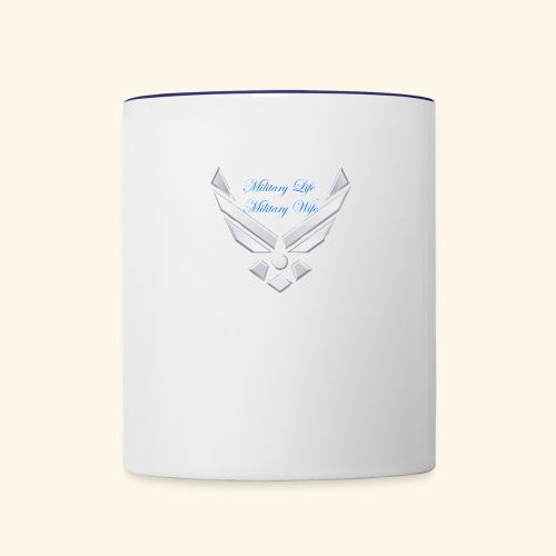 Military Life - Contrast Coffee Mug