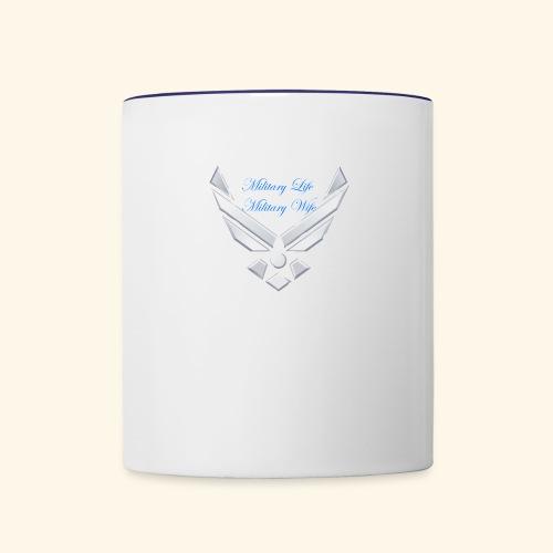 Military Life - Contrast Coffee Mug
