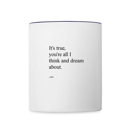 Thinker - Contrast Coffee Mug