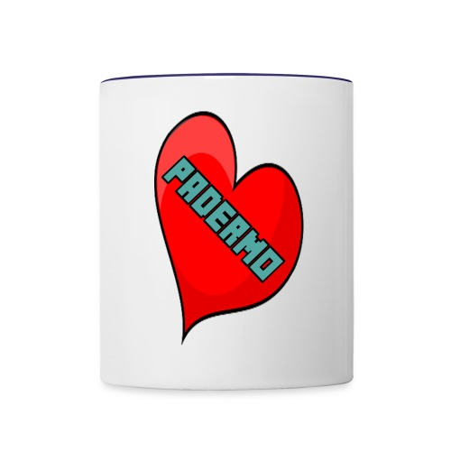 corazon padermo - Contrast Coffee Mug
